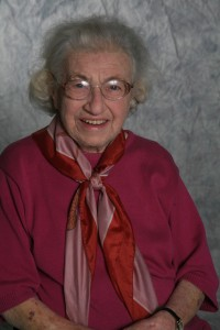 Ruth Callmann, longtime member of B'nai Emunah
