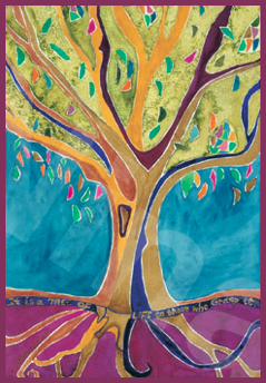 Tu B'shvat is the birthday of the trees - a big holiday in Eretz Israel.