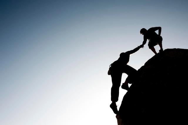 Accepting help from others can be the key to success.