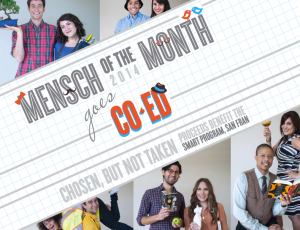 Mensch of the Month Calendar 2014