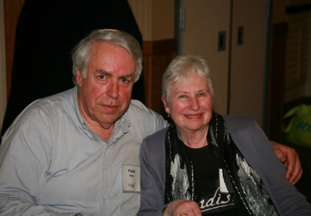 Frank and Linda Kurtz are longtime members of BE. They are contributing to the Legacy fund.