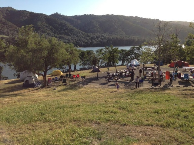 Camping Shabbaton to the Del Valle Campground in the East Bay