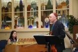 Fred Lifsitz in concert at congregation B'nai Emunah in May of 2016.