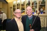 Fred Lifsitz with Rabbi Mark Melamut, May 2016. Photograph by Gabriele Lange.